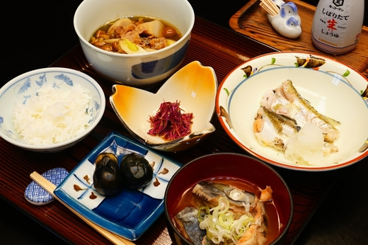 月山荘の食彩のしおり / 鶴岡の旅 食彩のしおり 九月