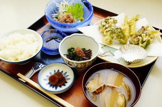 ホテル五番館の食彩のしおり / 鶴岡の旅 食彩のしおり 四月